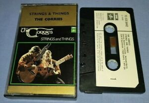 THE CORRIES STRINGS & THINGS PAPER LABELS cassette tape album T6040