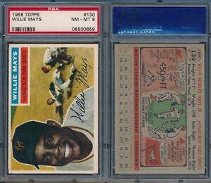 Willie-Mays-Giants-HOF-1956-Topps-130-PSA-8-NM-MT-x659