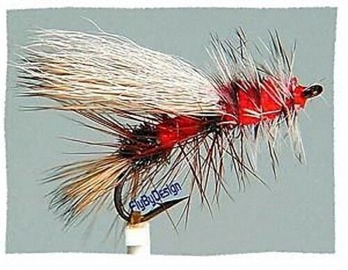 Premium Stimulator Dry Fly Fishing Flies Size /& Quantity Your Choice of Color