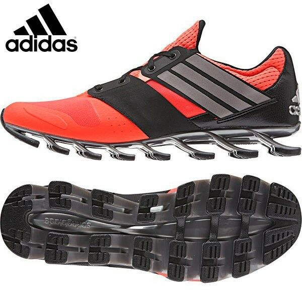 ADIDAS SPRINGBLADE SOLYCE UK MENS RUNNING TRAINERS RED UK SOLYCE SIZE 7.5 - 12 cfea83