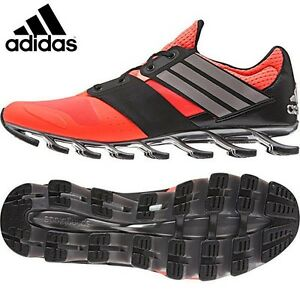 online retailer af9c9 c2019 Details about ADIDAS SPRINGBLADE SOLYCE MENS RUNNING TRAINERS RED UK SIZE  7.5 - 12