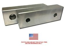 "TG-6252AP ALUMINUM SOFT JAWS FOR TONGUE /& GROOVE 6/"" CHUCK WITH A 2.5/"" HT 3PC SET"