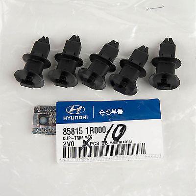 5PC Mounting 85746-02000RY Genuine OEM Hyundai Kia Plug Trim MTG