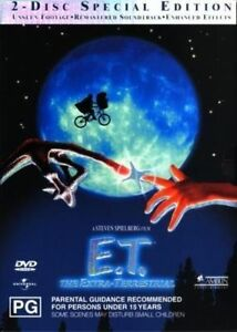 E-T-The-Extra-Terrestrial-ET-Movie-DVD-2-Disc-Set-Region-4-VGC
