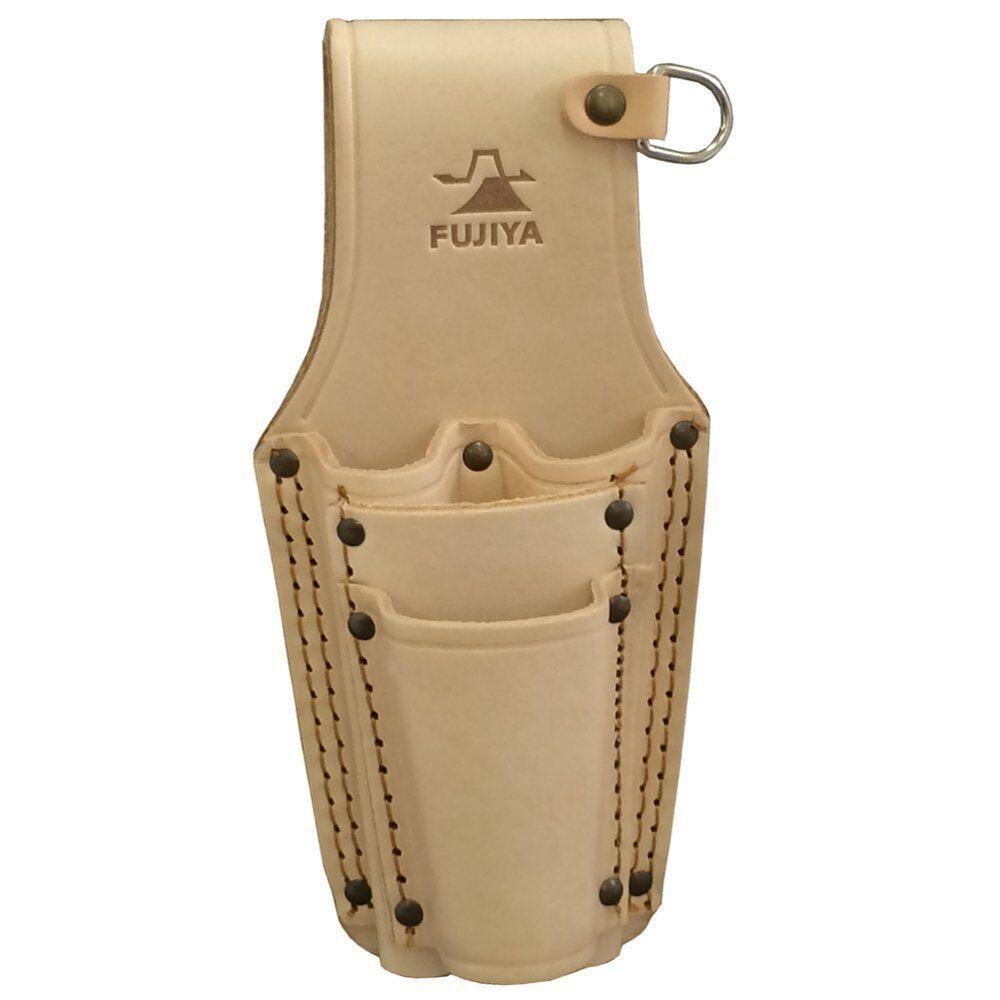 FUJIYA LP-4D Pliers Belt Holder Leather Case Made in JAPAN 4952520411537