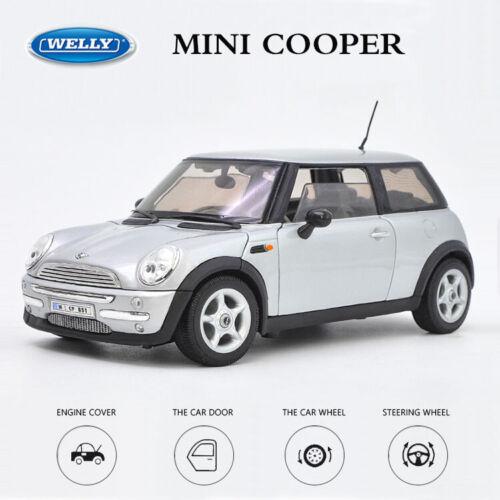 Welly NEX 1:18 Scale Diecast Car Model BMW MINI COOPER SUV Silver New in Box
