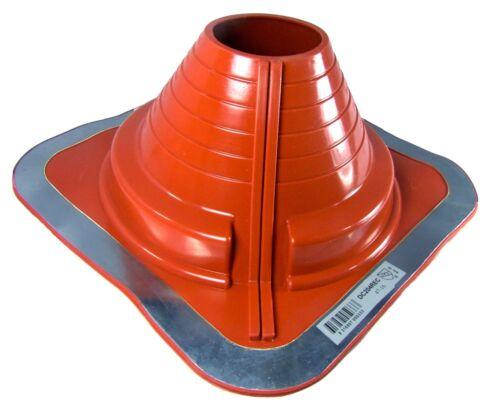 Dektite High Temperature Red Silicone Combo Pipe Flashing Metal Roof Flashing