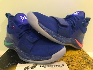 new products ee8b7 845d5 Details about NIKE PG 2.5 PLAYSTATION PS4 MULTI COLOR PAUL GEORGE DS SZ  11.5 BQ8388 900