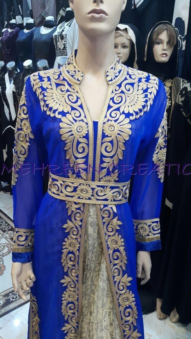 Dubai Mgoldccan Kaftan Dress Arabian clothing clothing clothing Hot FOR WOMEN CLOTHING WEAR  3029 dc0841