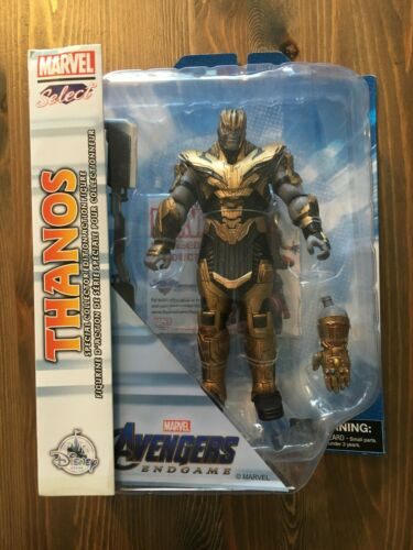 Marvel Avengers mossa finale Diamond Select BLINDATO THANOS Action Figure