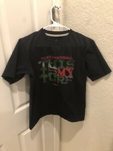 Youth-Boys-Nike-This-is-my-Turf-Black-Short-Sleeve-T-Shirt-Size-L-14-16-Large