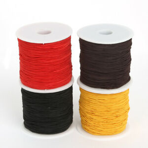 50-M-Elastic-Cord-Beading-Wire-Nylon-String-Rope-Thread-Bracelet-Necklace-DIY