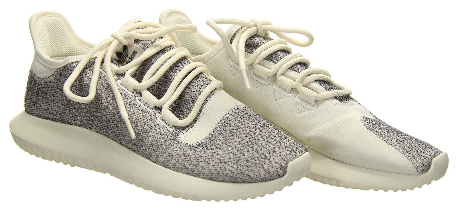 Adidas Tubular Shadow shoes Women's Grey and White Sz 6.5