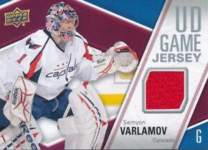 2011-12-Upper-Deck-Series-I-GP-SV-Semyon-Varlamov-UD-Game-Jersey-Insert