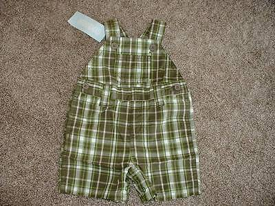 Gymboree Caterpillar Fella Shortalls Size 0-3 months mos NWT NEW Baby Boys $29