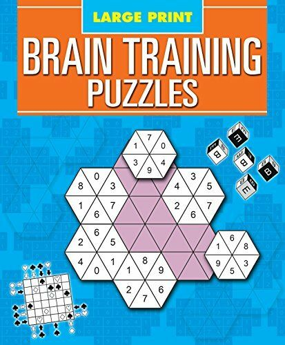 Large Print Brain Training Puzzles By Arcturus Publishing Limited