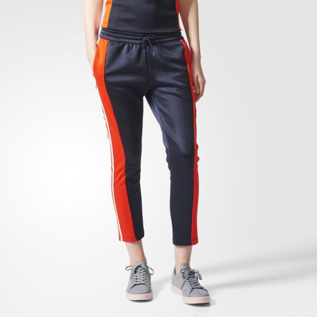 Adidas Women's Rare Originals Osaka AR Track pants Legend Ink/Orange Red  bq5753