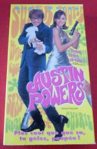 VHS-French-Movie-Austin-Powers-Alliance-Video