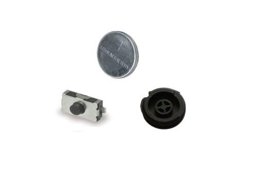 Para Peugeot 406 Llave Mando Kit de Reparación Bricolaje Interruptor Goma Botón