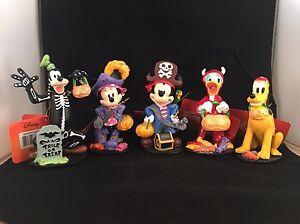 image is loading 2016 cvs disney halloween figurines fab 5 mickey - Goofy Halloween Pictures