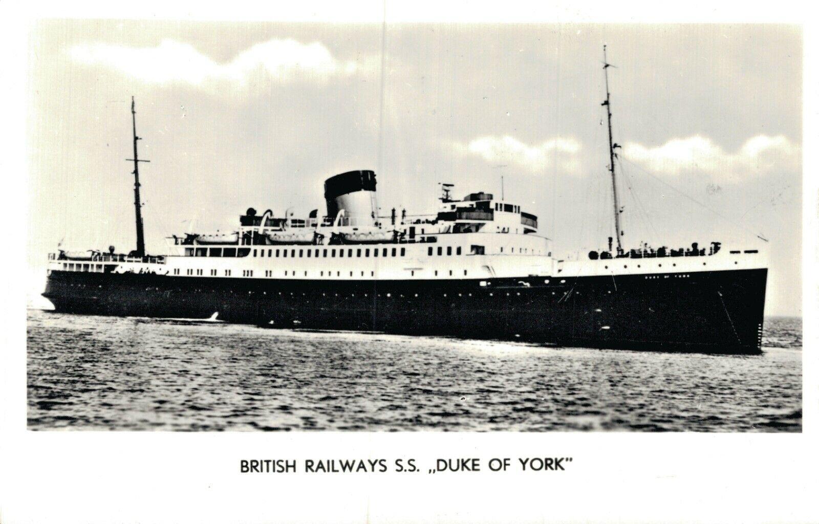 British Railways S.S. Duke Of York 05.16
