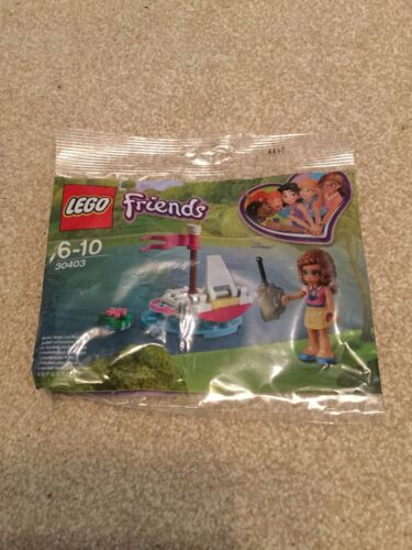 LEGO FRIENDS Olivia's Remote Control Boat Polybag Sealed Set 30403 New Packet