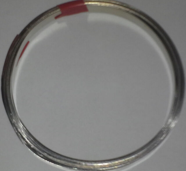"0.1mm x 7mm (0.0039""x0.275""') 99.6% Pure Nickel strip battery welding 10 ft roll"