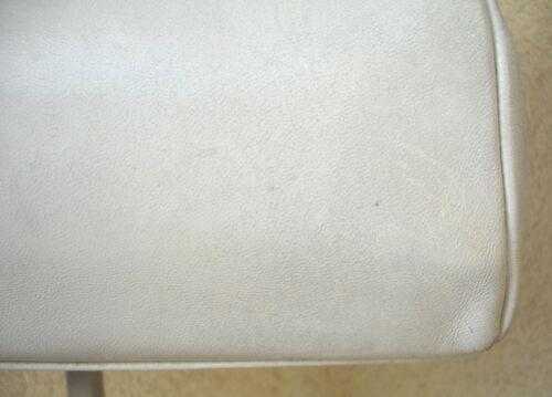 Vintage Sac A Cuir Main Blanc En 6ATXqxArw