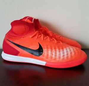 0830ebde5 Nike MagistaX Proximo II IC Indoor ACC Shoes Men s Crimson Sz 11.5 ...