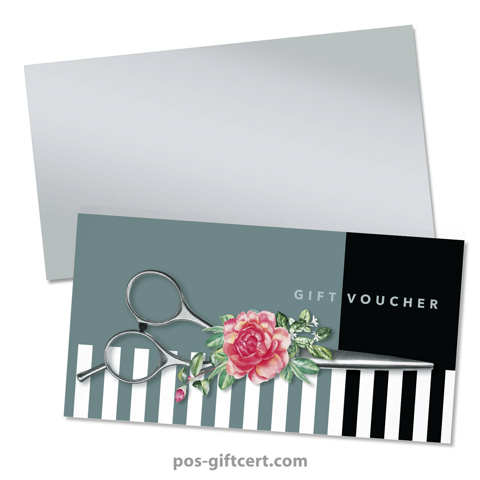Gift vouchers  envelopes for hair salons, hairdressers, hairstylists K295GB  | Primäre Qualität  | Shopping Online