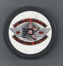 1992  43rd NHL All-Star Game  Philadelphia Spectrum  Souvenir Hockey Puck W