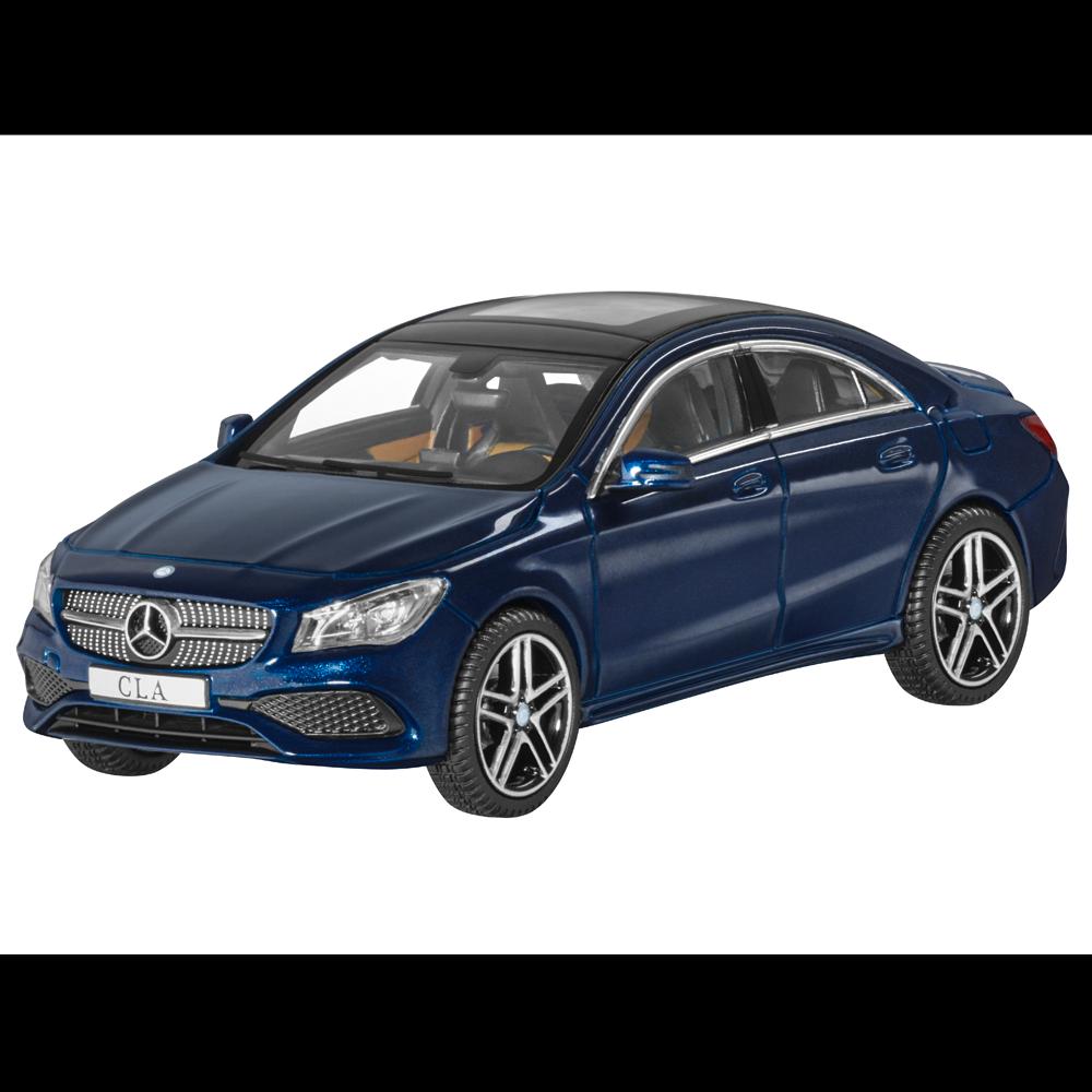 Mercedes-Benz Modèle de Voiture 1 43 Particulière Cla C117 Coupé Bleu B66960387