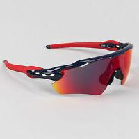 Oakley Radar Path Ev Sunglasses Dark Blue Frame Red Iridium Lens Olympic Usa on sale