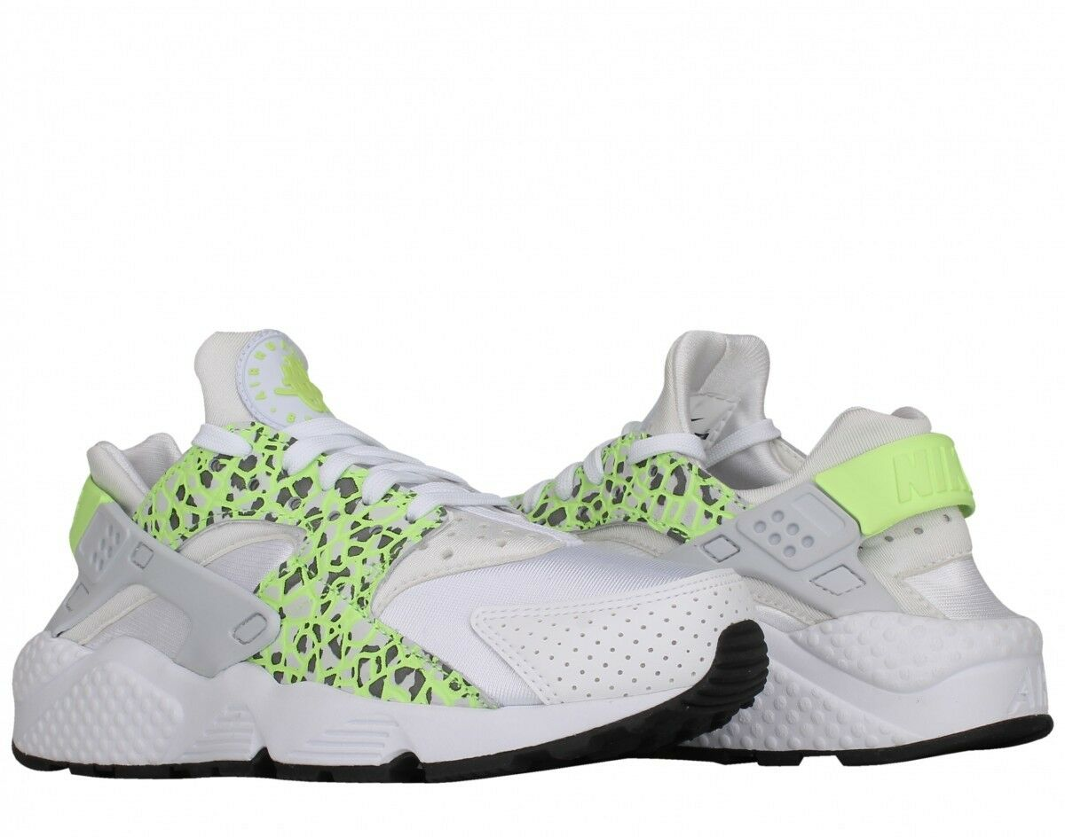 2293f2ae67fa Womens Nike Air Huarache PRM Sz 8 White Ghost Green Pure Platinum ...