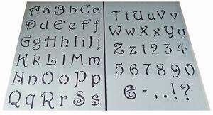 Numeros-letras-del-alfabeto-Plantilla-de-Plastico-Estilo-Vintage-Shabby-Chic-Caligrafia