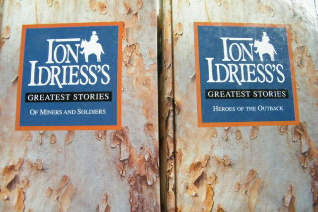 Ion Idriess Greatest Stories Heroes Of The Outback + Of Miners And Soldiers