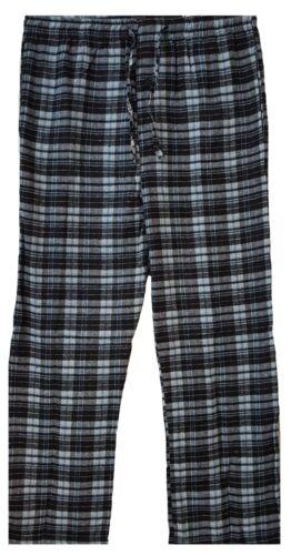 Mens Flannel Pyjama  Lounge Pants PJs Pajamas Nightwear Gift Warm Brushed cotton