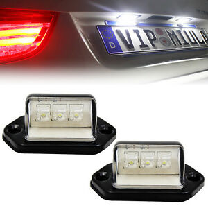 2PCS-LED-WHITE-REAR-LICENSE-NUMBER-PLATE-LIGHT-LAMP-TRUCK-BOAT-CARAVAN-TRAILER