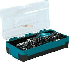 Makita B-36170 47 Piece Ratchet Wrench and Screwdriver Bit Set