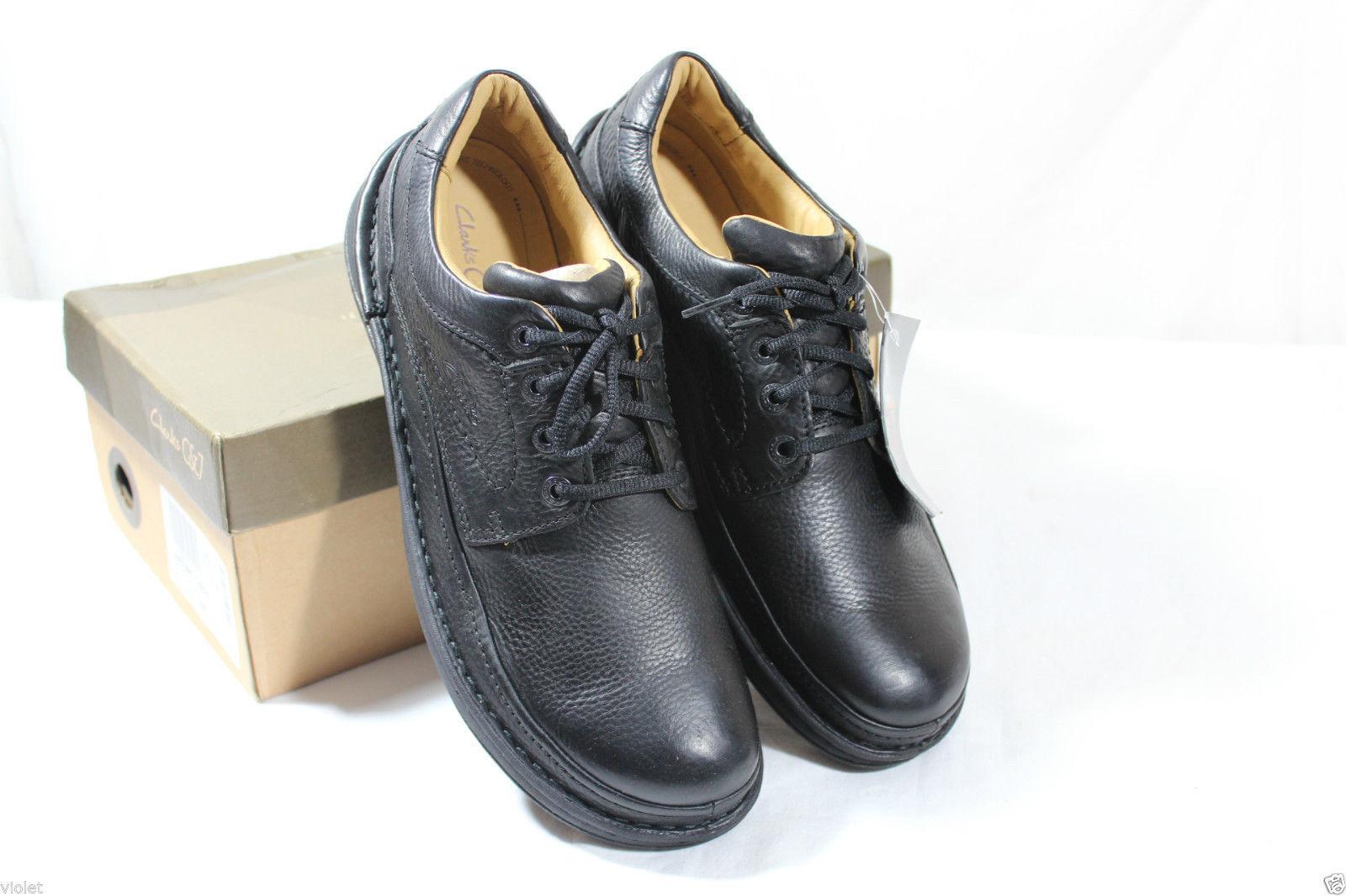 Clarks Men  Nature 11 11 11 , Black leather  Active Air  UK 6,7,8,9 G 3ccfec