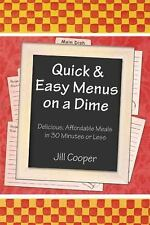 Quick & Easy Menus on a Dime