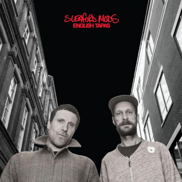 SLEAFORD MODS CD English Tapas + PROMO INFO Sheet BHS 2017 Album Digi-pack SEALE