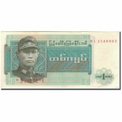Burma Buy Cheap #595238 1 Kyat Banknote Unc Ample Supply And Prompt Delivery Km:56 63