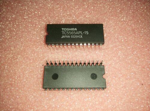1x TOSHIBA TC5565APL-15 TC5565APL15 150ns 8K X 8 STANDARD SRAM PDIP-28