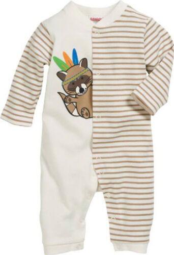Playshoes Schnizler Baby Overall Strampler Pyjama Gr 50 56 62 68 74 Baumwolle