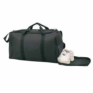 c30d3b317faf Details about Duffle Duffel Bags Shoe Storage Workout Sports Gym Travel  Carry-On 21 inch