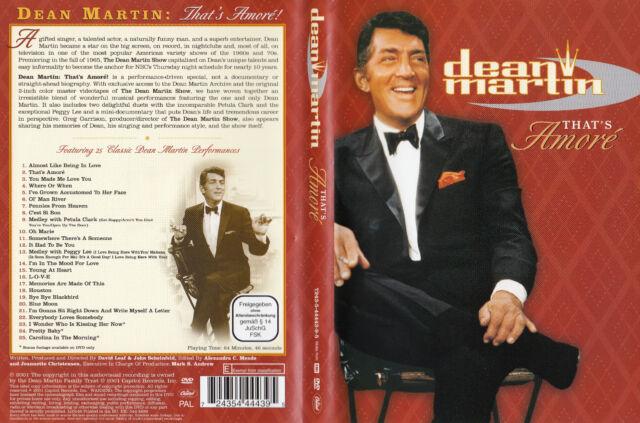 Dean Martin / That´s Amore´ / DVD von 2001 - Neuwertig !