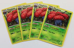 4x-VILEPLUME-3-98-Raro-Pokemon-TCG-XY-Ancient-Origins-Raro-Conjunto-de-Juego