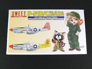 Suite-1-144-P-51B-C-15th-Air-Force-Mustang-plastic-model-kit-two-aircraft-cont