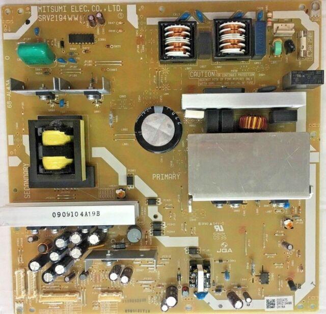 Toshiba 40XV645U 42ZV650U Power Supply SRV2194WW 68-AL43A